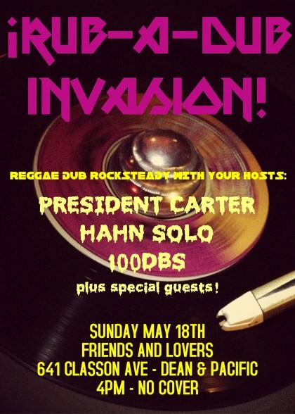Rub-a-Dub Invasion!