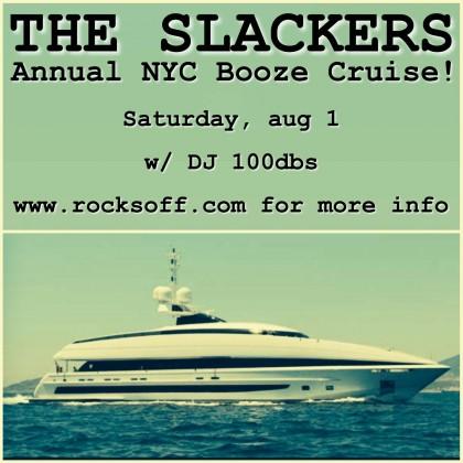 Slackers Booze Cruise 2015