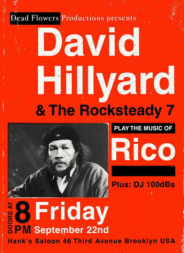 David Hillyard and The Rocksteady 7 play the music of Rico Rodriguez