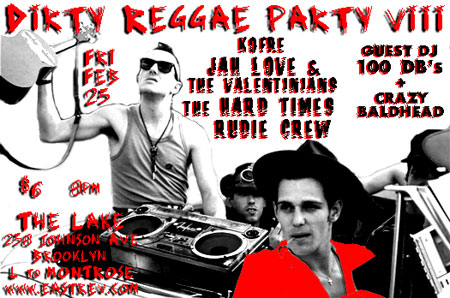 Dirty Reggae with Crazy Baldhead Sound System